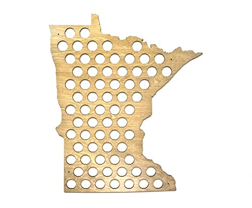 All States Beer Cap Map product image