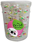 Cat-A-Lack 56-Piece Twirly Balls in Jar for Pets