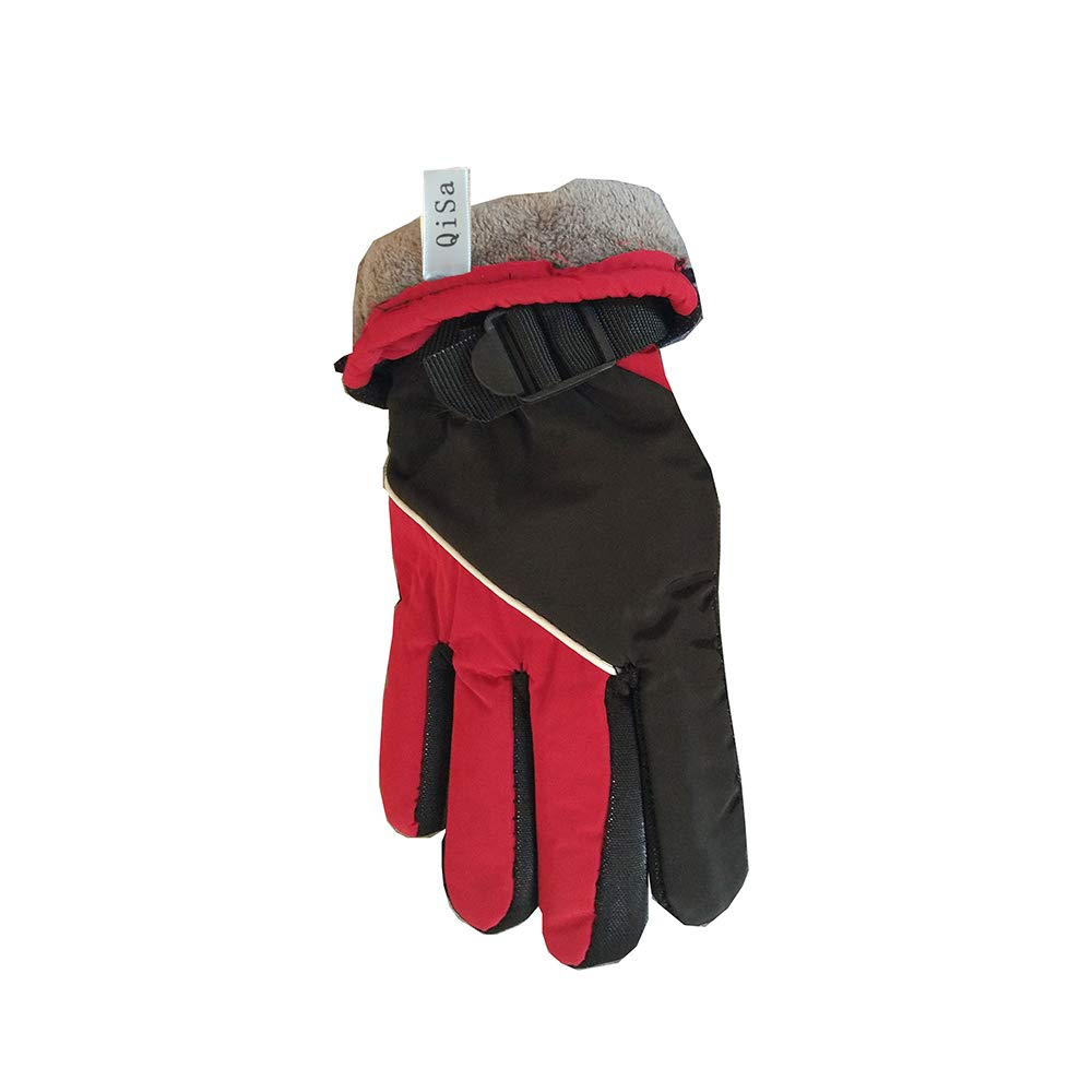 QiSa Winter Snow, Ski, Snowboard, Cold Weather Gloves Fashion Outdoor Gloves