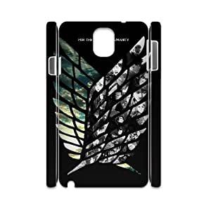 WJHSSB Diy case Attack on Titan customized Hard Plastic 3D Case For Samsung Galaxy note 3 N9000 [Pattern-6]