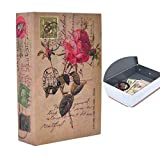 Medigy Fake Money Safe Books Hidden Safe Box with Combination Lock Diversion Book Safe for Money Gun Jewelry Safety Size M: 24.1x15.7x5.5cm-9.5x6.2x2.2