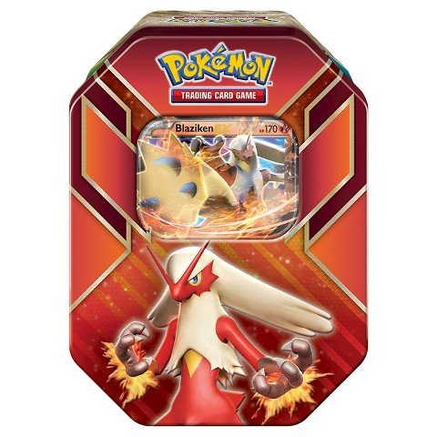 Pokemon Hoenn Blaziken EX Tin by excll