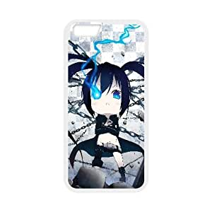 Chibi Black Rock Shooter Anime23 iPhone 6 4.7 Inch Cell Phone Case White DIY Ornaments xxy002-3675632