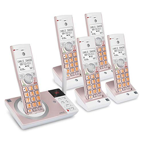 AT&T CL82557 5 Handset Answering System with Smart Call Blocker