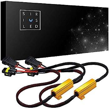 Amazon Com Siriusled 9006 Hb4 50w 6 Ohm Led Lights Load
