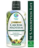 Tropical Oasis Liquid Calcium & Magnesium – Natural formula w/ support for strong bones – Liquid vitamins w/ calcium, magnesium & vitamin D – Up to 96% absorption by the body. – 32oz, 64 Serv. Review