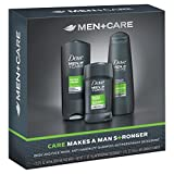 Dove Men+Care Extra Fresh Bath and Body Gift Set (3Pcs)