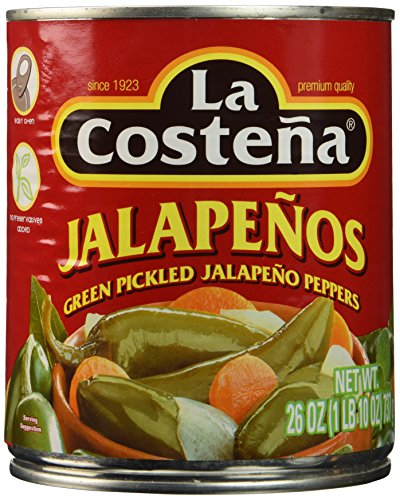 La Costena Whole Jalapeno Pepper, 26 oz (La Costena Jalapeno)