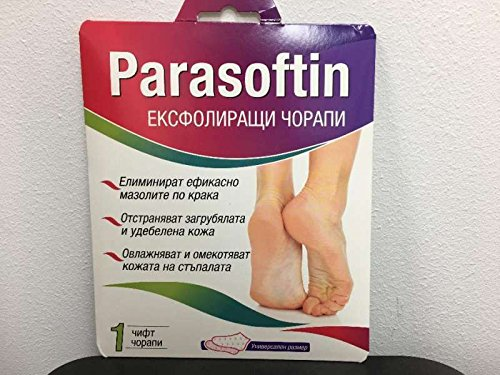 Parasoftin Exfoliating Socks Total Callus Removal Soft F ..