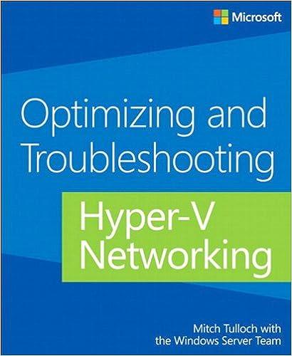Livres numériques gratuits à télécharger Optimizing and Troubleshooting Hyper-V Networking B00JDMPM54 (Littérature Française) PDF ePub iBook