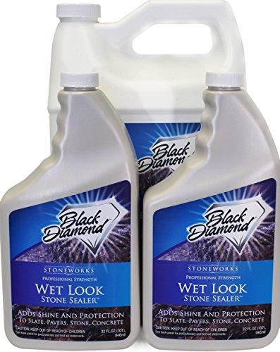 Wet Look Natural Stone Sealer From Black Diamond Stonewor...