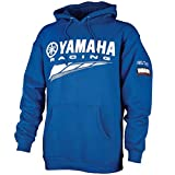 Yamaha CRP-14FRC-BL-MD Hoodie-Yamaha Racing Blue; CRP14FRCBLMD Made by Yamaha
