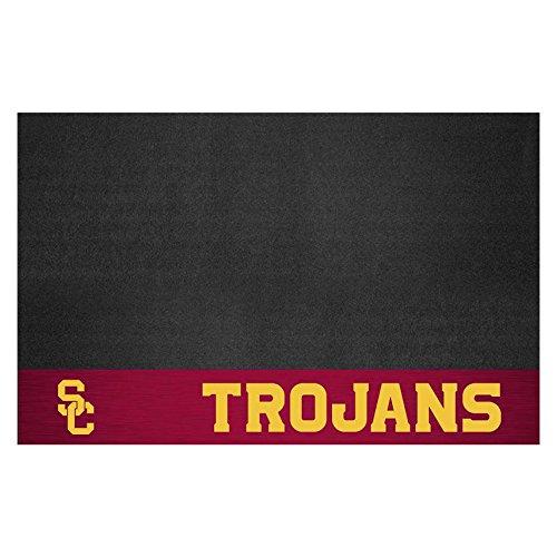 FANMATS NCAA Univ of Southern California Trojans Vinyl Grill Mat
