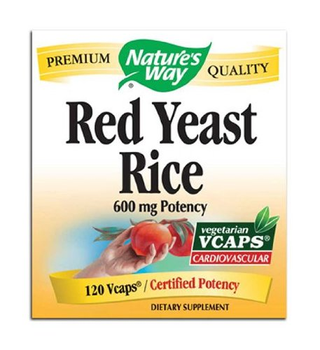 Way Red Yeast Rice Nature 600mg, 120 capsules végétales