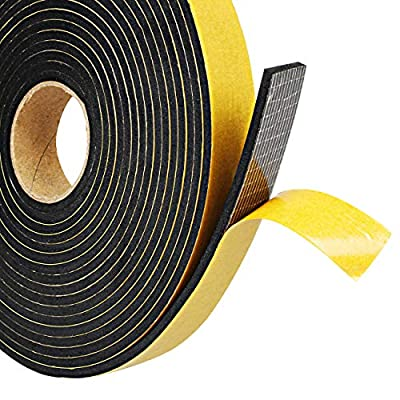 Foam Seal Tape,Weather Stripping for Door and Window Insulation