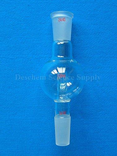 Deschem 24/40,100ml,Glass Anti-splash Adapter,Anti Splash Head,Lab Glassware