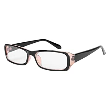 463aa75e60ab Women Men Eyeglasses Blue Light Blocking Computer Glasses Anti Eye Strain UV  Black Frame Reading Glasses