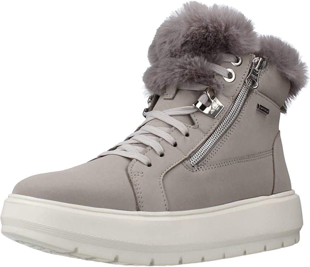 Formación Gimnasio realeza  Amazon.com | Geox D Kaula B ABX Boots Women Grey - 9.5 - Snow Boots Shoes |  Boots