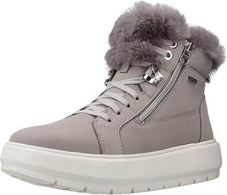 Confirmación munición sabiduría  Amazon.com   Geox D Kaula B ABX Boots Women Grey - 9.5 - Snow Boots Shoes    Boots