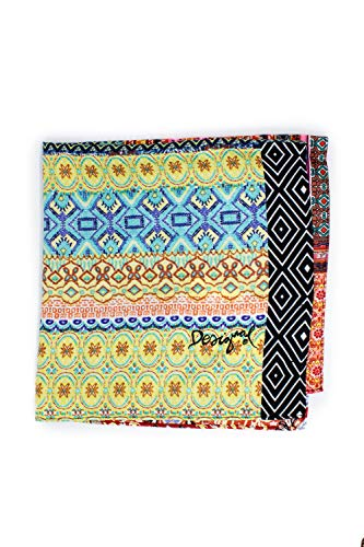 Femme Band 19sawf99 Pashmina Desigual Multicolore Patchingh fgxACqn