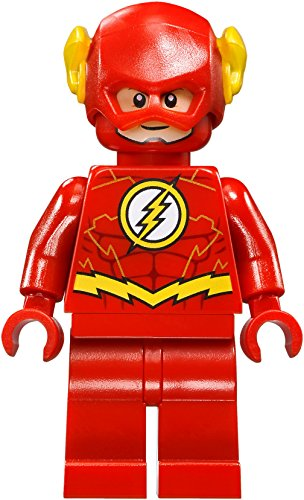 LEGO DC Comics Super Heroes Jusctice League Minifigure - Flash Gold Outline (76098)