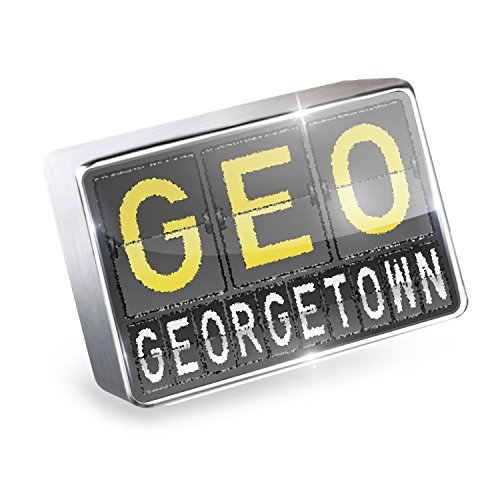 Floating Charm GEO Airport Code for Georgetown Fits Glass Lockets, - Glasses Georgetown