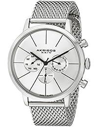 Men's AK714SS Stainless Steel Watch
