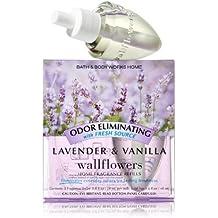 Bath & Body Works Lavender & Vanilla Odor Eliminating Wallflower Home Fragrance Refills