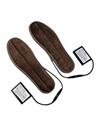 Heated Insoles Rechargeable Heated Shoes Insoles Winter Warmer Shoe Pad Heating 8-9 Hours