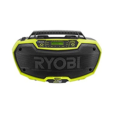 Ryobi P746 ONE+ 18-Volt Dual Power Stereo with Bluetooth Wireless Technology