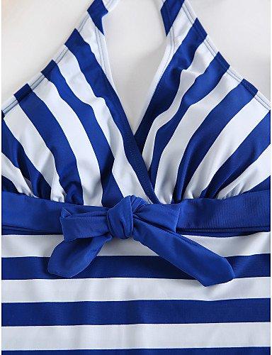 TAOTINGYAN Badeanzug,Bikini,Bikini-Sets Für Für Für Damen Frauen Schnürschuhe Gestreiften Badeanzug Bikini B0799K5JG5 Bikini-Sets Viel Spaß 2eb907