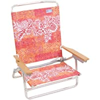 Rio High Back Beach Chair - 5 position LayFlat