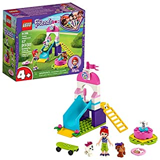 LEGO Friends Puppy Playground 41396 Starter Building Kit; Best Animal Toy Featuring LEGO Friends Character Mia, New 2020 (57 Pieces)