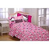 Maple Down 3-Piece Flannel Twin Sheet Set, Multi