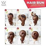 Hawwwy 12-piece Hair Bun Maker, Easy & Fast Small