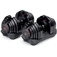 2-Pack Bowflex SelectTech 1090 Workout Exercise Dumbbells w/ Adjustable Weight