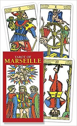 Tarot Of Marseille Mini English And Spanish Edition Lo Scarabeo 9780738710266 Amazon Com Books