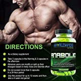 Worldwide Nutrition Anabolic Accelerator Supplement - Muscle Growth, Strength, Recovery, Power - Plant-Based, Workout Performance Enhancer - Cortisol Blocker, Metabolism Booster - 180 Capsules