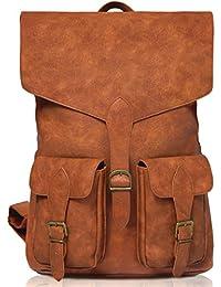 Stylish Vintage Laptop Leather backpack for Men & Women, Best for Travel, School, Work