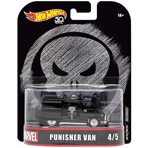 Furgoneta Punisher de Hot Wheels, escala 1:64