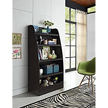 Cosco Hazel  Kids 4 Shelf Bookcase Espresso