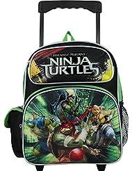 Nickelodeon Teenage Mutant Ninja Turtles 12 Toddler Rolling Backpack