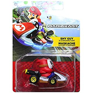 Shy Guy Standard Kart Mario Kart Vehicle