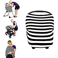 Mamkoo Nursing Cover, Breastfeeding Cover for Mom,Muti-Use Scarf,Baby CarSeat Cover Canopy
