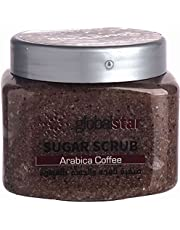 Global Star Coffee Sugar Face and Body Scrub, 600 ml, Multicolour