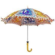 Multicolor Exclusive Ethnic Designer Umbrella