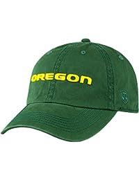Oregon Ducks Adjustable Enzyme Washed Hat - Green ,