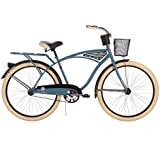 Huffy 26-inch Deluxe Men's' Cruiser Bike, Blue