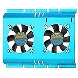 MassCool FHD-4B02S4 - Ventilador de PC (Fan, Hard Disk Drive, 27.7, Blue, 0.1, 1.2)