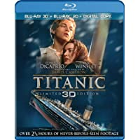Titanic 3D + Blu-ray + Digital Box Set